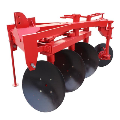 Hydraulic reversal disc plough